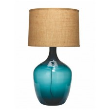 jamie young extra large plum jar table lamp w/ large drum shade