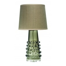 jamie young tall ribbon table lamp w/ tall cone shade