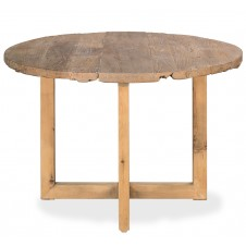 barnyard table with antique wood top