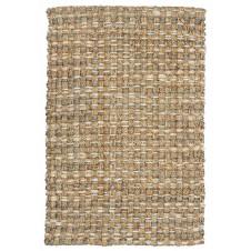 panama rug, natural/bleach/grey