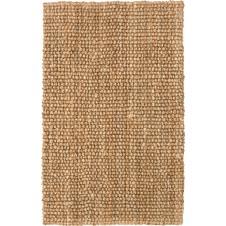 chunky loop natural jute rug