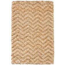 herringbone gold braided jute rug