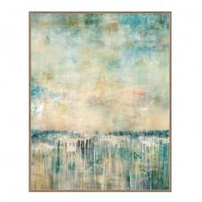 azure landscape giclee