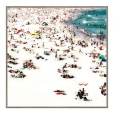 summer crowds giclee