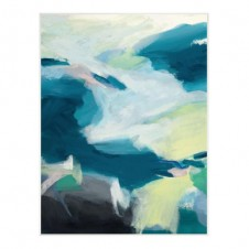 motion in blue giclee