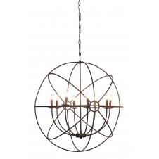 derince iron chandelier
