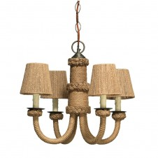 jamie young jute chandelier