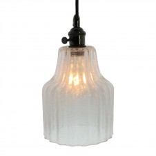 homart stina glass pendant light, small