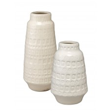 white coco vessels set of 2