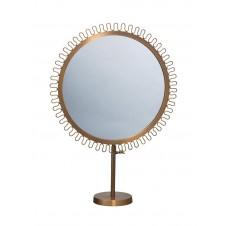 sunburst standing mirror