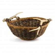 caribou round basket