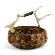caribou round small basket