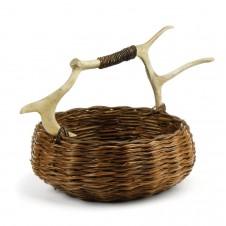 caribou round small basket