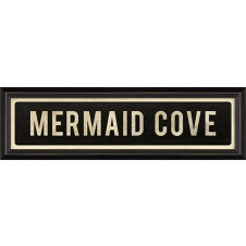"""mermaid cove"" street sign"
