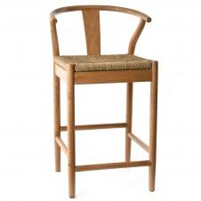 oak counter stool