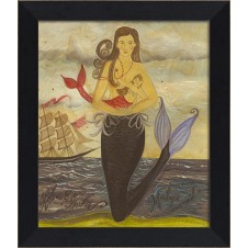 """monday's mermaid"" mermaid art"