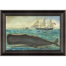 """the sperm"" whale art"