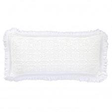 pine cone hill anka white decorative pillow