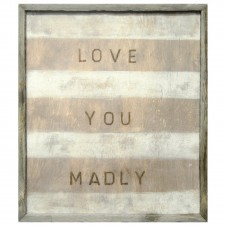 love you madly art print