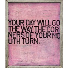 your day will go art print