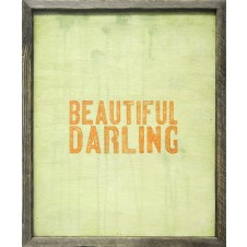 beautiful darling art print
