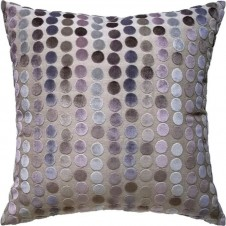 avery dots mauve pillow