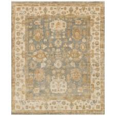 bogart collection blue & ivory rug