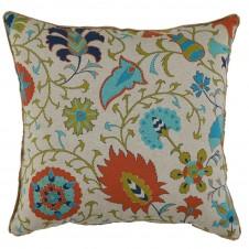 lacefield calypso tango with eyelash trim pillow