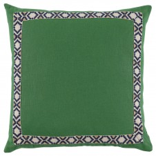 lacefield kelly linen with navy on off white camden tape pillow