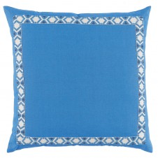 lacefield royal linen with regatta on white camden tape pillow