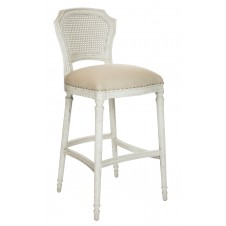 aidan gray white chelsea bar stool