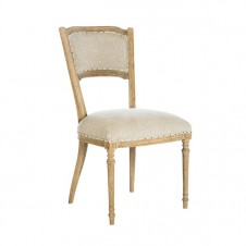 aidan gray marilyn dining chair in linen