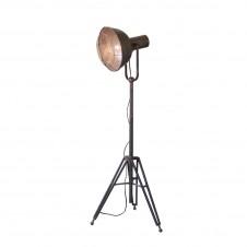 caged studio floor lamp