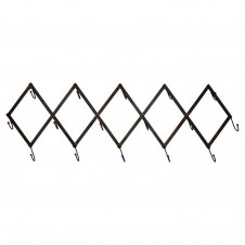 flat iron adjustable scissor coat rack