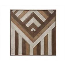 pieced wood wall decor