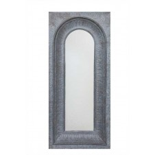 iron framed mirror