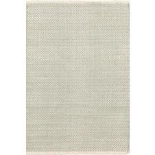 dash & albert herringbone ocean woven cotton rug