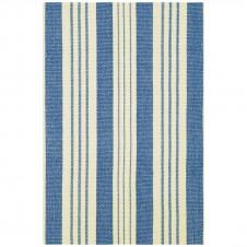 dash & albert staffordshire stripe woven cotton rug