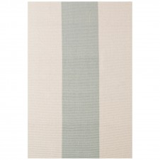 dash & albert yacht stripe ocean woven cotton rug