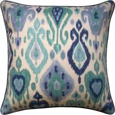 django turquoise pillow