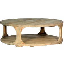"boston 48"" round coffee table"