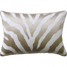 etosha taupe bolster pillow
