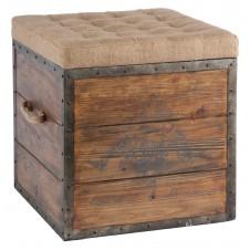 aidan gray the article no.54 wood cube ottoman