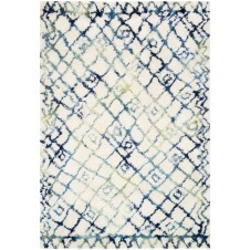 folklore collection ivory & ocean rug