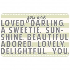 """""""you are loved"""" gift card"""