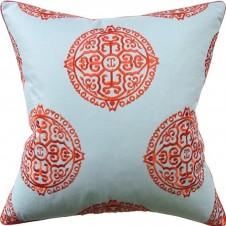 halie aqua pillow