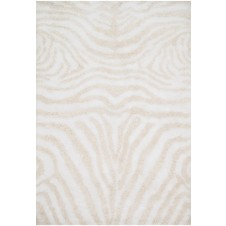 kiara shag collection ivory & cream rug
