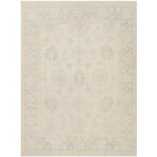 kingsley collection stone & blue rug