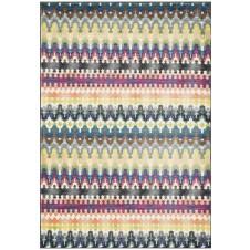 madeline collection multi stripe rug