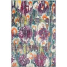 madeline collection fuschia multi rug